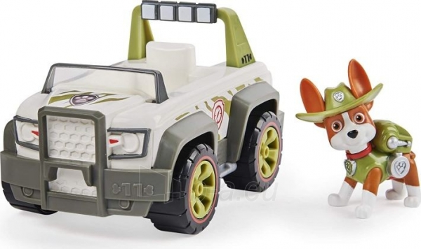 6052310 PAW Patrol Tracker's Jungle Cruiser Vehicle with Collectible Figure TRACKER SPIN MASTER Paveikslėlis 6 iš 6 310820252862