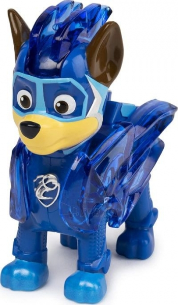 6055929 Spin Master Paw Patrol Mighty Pups Charged Up Figure - CHASE Paveikslėlis 3 iš 6 310820252822