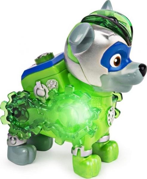 6055929 Spin Master Paw Patrol Mighty Pups Charged Up Figure - ROCKY Paveikslėlis 2 iš 6 310820252824