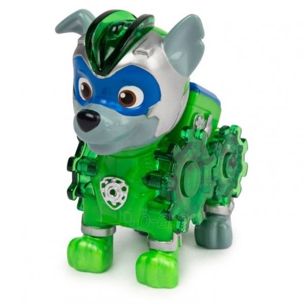 6055929 Spin Master Paw Patrol Mighty Pups Charged Up Figure - ROCKY Paveikslėlis 3 iš 6 310820252824