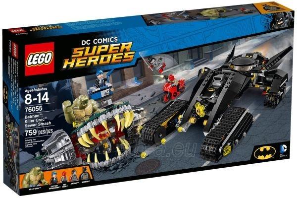 76055 LEGO Super Heroes konstruktorius, 8-14 m. Paveikslėlis 1 iš 1 310820048310