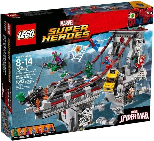 76057 LEGO Super Heroes konstruktorius, 8-14 m. Paveikslėlis 1 iš 1 310820048311