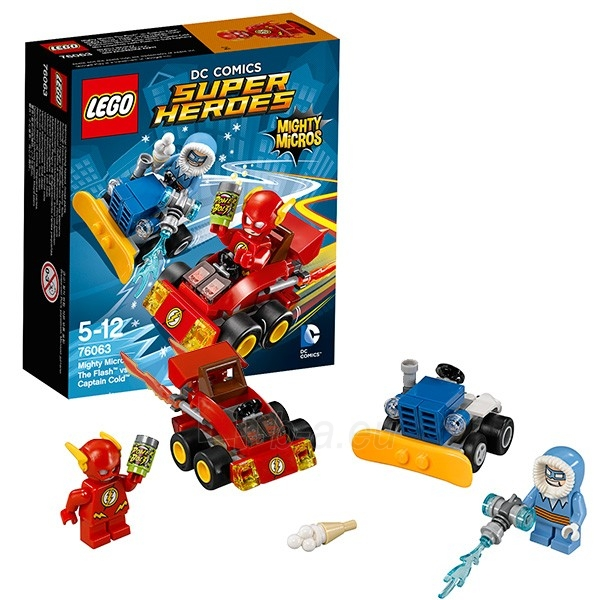 76063 LEGO Super Heroes Flash vs Captain Cold, 5-12 m. NEW 2016! Paveikslėlis 1 iš 1 310820048162
