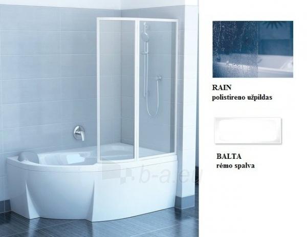 76PB010041 VSK2 ROSA 170R RAIN, vonios sienelė Paveikslėlis 1 iš 1 270717001219