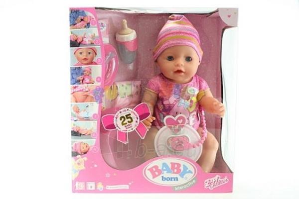 822005 / 819197 NEW 2016 Zapf Creation Baby Born lėlė Girl NEW Paveikslėlis 3 iš 6 310820052212