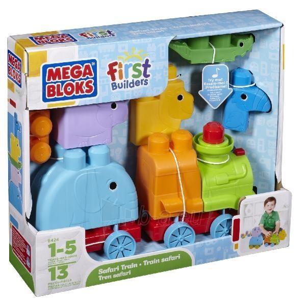 8424 Mega Bloks konstruktorius First Builders Paveikslėlis 1 iš 1 250710600221