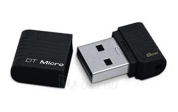8GB USB2.0 DATATRAVELER MICRO (BLACK) Paveikslėlis 1 iš 1 250255120976