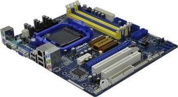 ASROCK AM3+ GF7025 DDR2/DDR3 SATA2 MATX Paveikslėlis 1 iš 1 250255050182