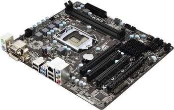 ASROCK S1155 B75 DDR3 SATA6 MATX Paveikslėlis 1 iš 1 250255050925