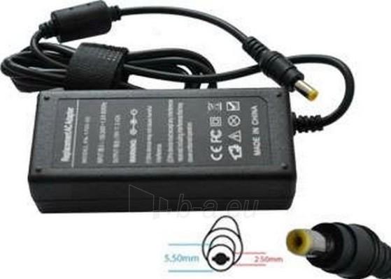 Adapteris POWERMAX AD. ACER/ASUS 19V 3.42A 5.5X2.5 Paveikslėlis 1 iš 1 250254200004
