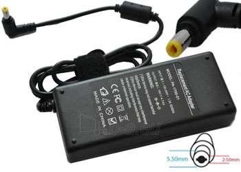 Adapteris POWERMAX AD. ACER/ASUS 19V 4.74A 5.5X2.5 Paveikslėlis 1 iš 1 250254200006