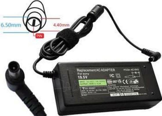 Adapteris POWERMAX NB AD. SONY 19.5V 4.7A 6.0X4.4 Paveikslėlis 1 iš 1 250254200022