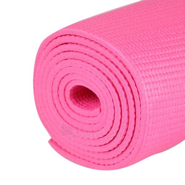 Aerobikos kilimėlis inSPORTline Yoga, rožinis Paveikslėlis 1 iš 7 250620500020