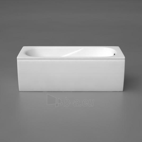 Akmens masės vonia VISPOOL CLASSICA 180x75 stačiakampė balta Paveikslėlis 5 iš 5 270716000126