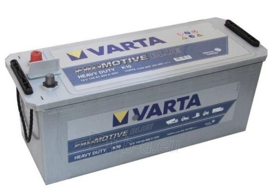 Akumuliatorius 140Ah/12V/800A/K10 Pro Blue Paveikslėlis 1 iš 1 250331000103