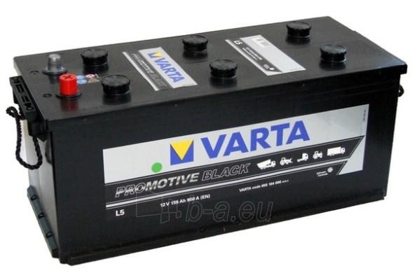 Akumuliatorius 155Ah/12V/900A/L5 Pro Black Paveikslėlis 1 iš 1 250331000009