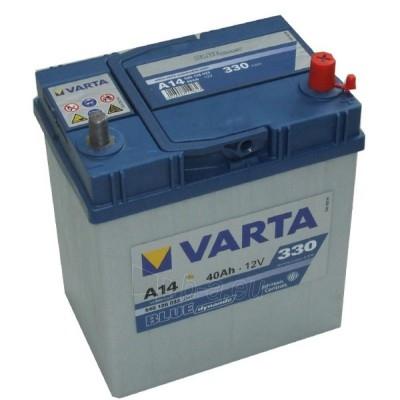 Akumuliatorius 40Ah/12V/330A/A14 Blue Paveikslėlis 1 iš 1 250331000047