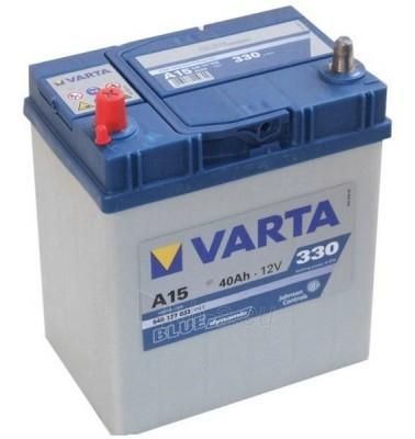 Akumuliatorius 40Ah/12V/330A/A15 (L+) Blue Paveikslėlis 1 iš 1 250331000003