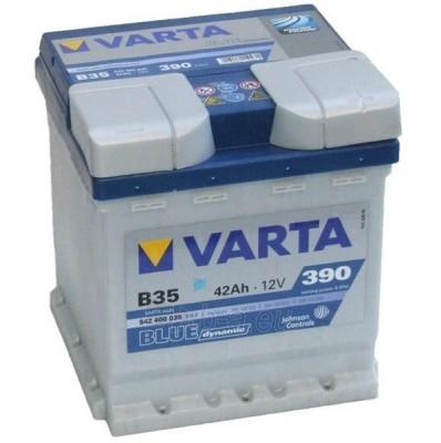 Akumuliatorius 42Ah/12V/390A/B35 Blue Paveikslėlis 1 iš 1 250331000001
