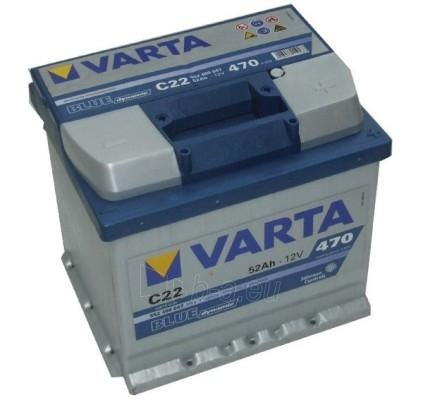 Akumuliatorius 52Ah/12V/470A/C22 Blue Paveikslėlis 1 iš 1 250331000038