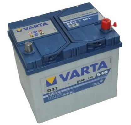 Akumuliatorius 60Ah/12V/540A/D47 Blue Paveikslėlis 1 iš 1 250331000032