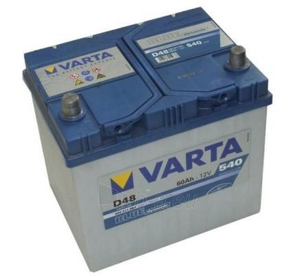 Akumuliatorius 60Ah/12V/540A/D48 (L+) Blue Paveikslėlis 1 iš 1 250331000054