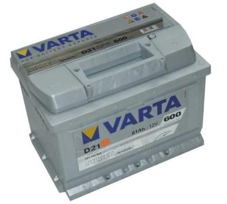 Akumuliatorius 61Ah/12V/600A/D21 Silver Paveikslėlis 1 iš 1 250331000033