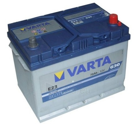 Akumuliatorius 70Ah/12V/630A/E23 Blue Paveikslėlis 1 iš 1 250331000059