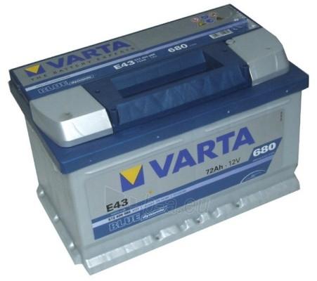Akumuliatorius 72Ah/12V/680A/E43 Blue Paveikslėlis 1 iš 1 250331000041