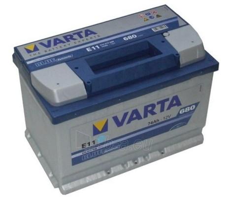 Akumuliatorius 74Ah/12V/680A/E11 Blue Paveikslėlis 1 iš 1 250331000005