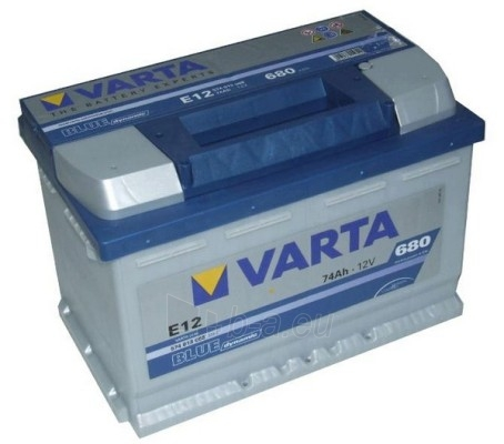 Akumuliatorius 74Ah/12V/680A/E12 Blue Paveikslėlis 1 iš 1 250331000027