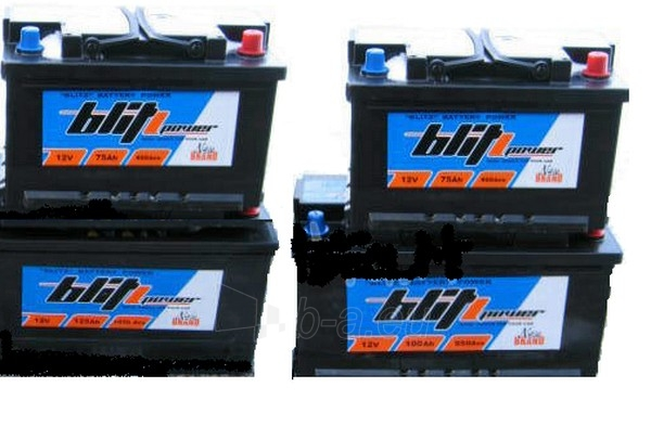 Akumuliatorius 75Ah/12V/800A EN Blitz Paveikslėlis 1 iš 1 250331000108