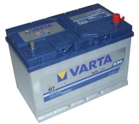 Akumuliatorius 95Ah/12V/830A/G7 Blue Paveikslėlis 1 iš 1 250331000136