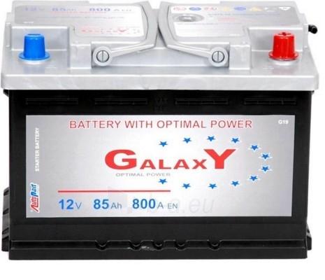 Akumuliatorius GALAXY OPTIMAL POWER 85Ah Paveikslėlis 1 iš 1 250331000025
