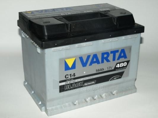 Akumuliatorius VARTA Black dynamic 56 Ah C14 Paveikslėlis 1 iš 1 250331000123