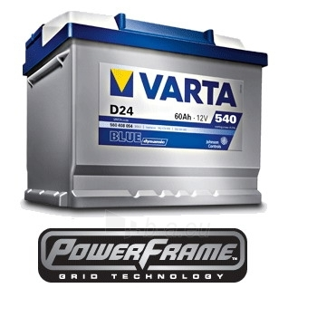 Akumuliatorius VARTA Blue dynamic 95Ah Paveikslėlis 1 iš 1 250331000007