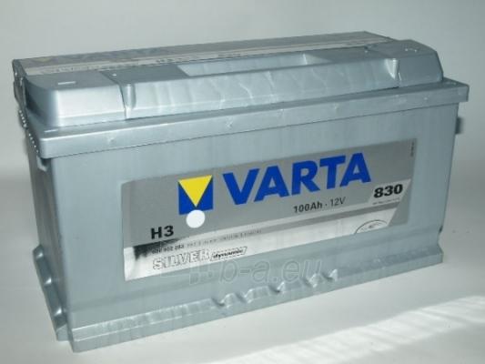 Akumuliatorius VARTA Silver dynamic 100 Ah H3 Paveikslėlis 1 iš 1 250331000064