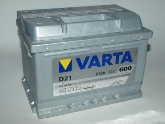 Akumuliatorius VARTA Silver dynamic 61 Ah D21 Paveikslėlis 1 iš 1 250331000067
