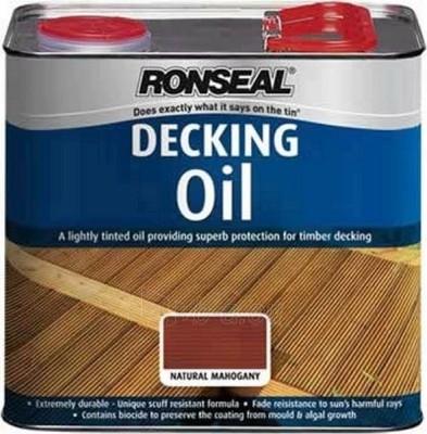 Aliejus terasoms 2,5 ltr Raudonmedis Decking oil Paveikslėlis 1 iš 2 236860000119
