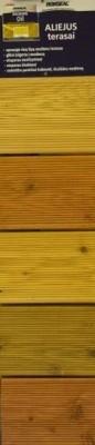Aliejus terasoms 2,5 ltr Raudonmedis Decking oil Paveikslėlis 2 iš 2 236860000119