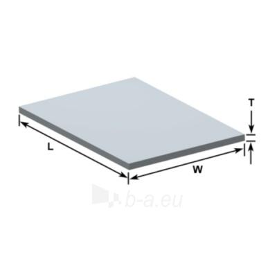 Aliuminio lakštas 1,0x1250x2500 Paveikslėlis 1 iš 1 211010000088