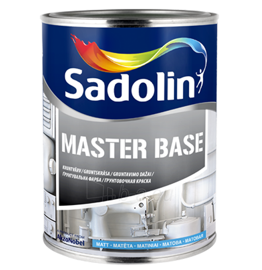 Alkidiniai gruntavimo dažai Master Base 2,5 ltr. Paveikslėlis 1 iš 1 236580000308