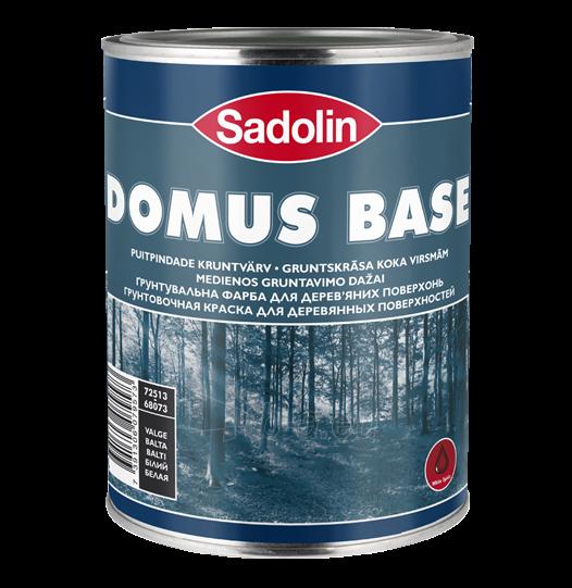 Dažai gruntavino aliejiniai, alkidiniai, medienai Domus base 1 ltr. Paveikslėlis 1 iš 1 236580000323