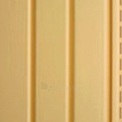 Angos profilis fasado apdailai, tamsiai geltonas Paveikslėlis 3 iš 3 237714000183