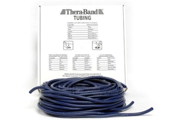 Apvali juosta mankštai THERA-BAND mėlyna (1 m) Paveikslėlis 1 iš 1 250620600021