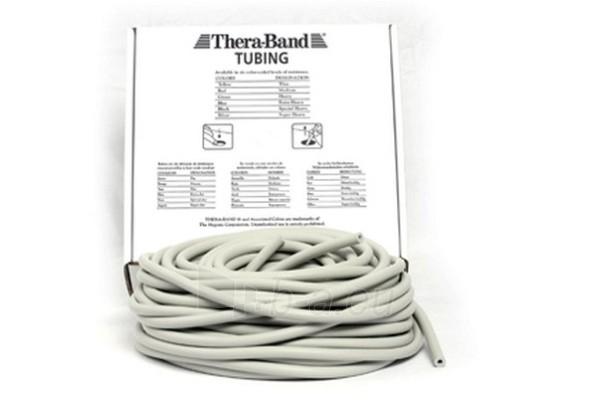 Apvali juosta mankštai THERA-BAND sidabro (1 m) Paveikslėlis 1 iš 1 250620600023