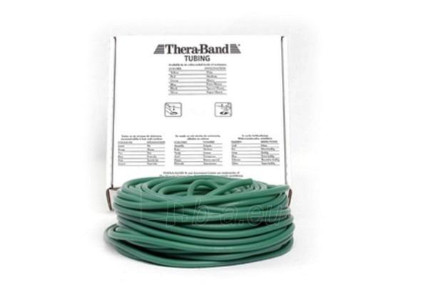 Apvali juosta mankštai THERA-BAND žalia (1 m) Paveikslėlis 1 iš 1 250620600020