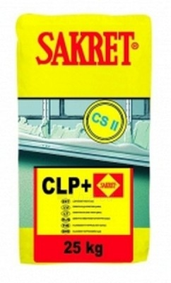White mechanically application lime cement plaster CLP 40 kg Paveikslėlis 1 iš 1 236760200013
