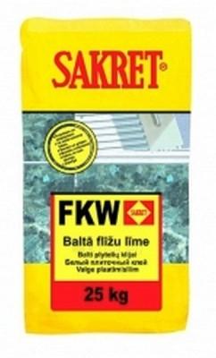White flexible tile adhesive FKW (25 kg) Paveikslėlis 1 iš 1 236780600026