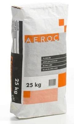 Balti žieminiai blokų klijai AEROC 25kg Paveikslėlis 1 iš 1 236780290020